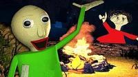 滑稽学院3D版: 大师哥又带我去森林郊游捡柴火了