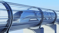 """贵州喜迅! 中国首条真空""""超级高铁""""将在贵州开通, 时速高达1200km"""
