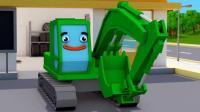 介绍小汽车和挖掘机玩具