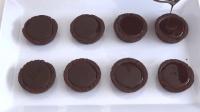 做一份巧克力芝士招待客人, 一下子吃完了