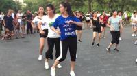 全民健身广场舞《一晃就老了》百合曳舞团简单好学的步子舞