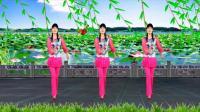甜歌广场舞《小妹妹送情郎》唯美抒情, 情歌对唱, 河北青青广场舞