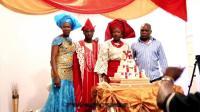 一对非洲黑人举办的婚礼,看完后不得不说,太有钱了!