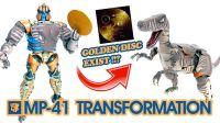 KL变形金刚玩具分享341 动画里的金碟是真实存在的?!MP-41逆变示范!