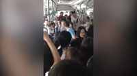 女子广州坐公交遇色狼反被骂 乘客司机相助