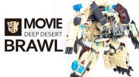 KL变形金刚玩具分享342  电影 L级 沙漠配色 吵闹 BRAWL