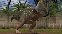 侏罗纪世界游戏第1067期 4星混种厚鼻巨齿龙有些憨★星仔和亮哥