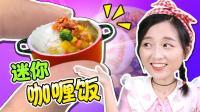 迷你厨房之世界上最小的香喷喷咖喱鸡饭! 小伶玩具
