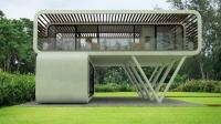 模块化设计房屋, 可以打包带走, 想搬哪里住就搬哪里住!