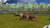 侏罗纪世界游戏第787期: 南极甲龙★恐龙公园★哲爷和成哥