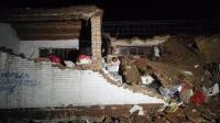 天津遭遇龙卷风袭击 多处房屋受损1人轻伤