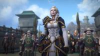 002和吉安娜去库尔提拉斯魔兽世界8.0升级视频x天马骑士x版WorldOfWarcraft