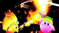 [宝妈趣玩]星之卡比★新星同盟: 伙伴联合, 打败森林boss! 试玩!