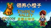 【智多星吴用】星露谷物语Stardew ValleyEP2 领养小橙子