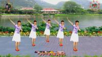 阳光美梅原创广场舞《为爱流下伤心泪》柔情32步-编舞: 美梅2018最新广场舞视频