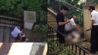 男童骑车撞断护栏摔下5米深地面 不幸身亡