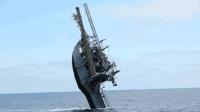 最奇葩的船, 能在海里玩倒立, 船员吃饭上厕所怎么办?