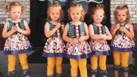 五胞胎第一天上幼儿园, 看到爸爸妈妈离开后, 宝宝们开始大哭
