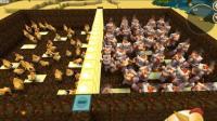 迷你世界VS系列: 50战斗鸡VS50熔岩巨人 测试服最强对决!
