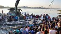现场: 苏丹尼罗河沉船 致22名上学儿童遇难