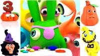 万圣节怪兽数字英语儿童英语ABC小怪兽英语字母ABC英语儿歌ABC少儿英语ABC
