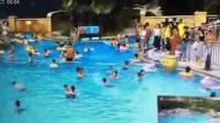 5岁男童泳池内溺水 民警急救3分钟捡回一命