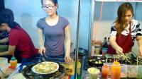 晚上的越南街边, 有很多越南姑娘在做生意, 一个晚上能挣多少钱?