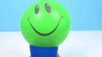 宝宝学颜色, 不同色彩的表情气球, 亲子早教益智动画