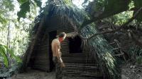 丛林生存, 搭建实木庇护所, 摘最新鲜的野果吃