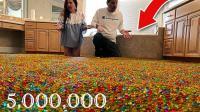 500万颗水宝宝倒父母卧室会是啥待遇? 贫穷限制了我的想象力!