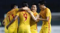 张玉宁、韦世豪、陈彬彬的进球, 亚运会中国U23男足3比0战胜叙利亚!