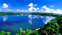 漫游火山湖湛江湖光岩