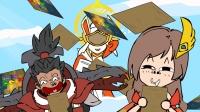 王者荣耀搞笑小动画: 天降宝藏图的秘密