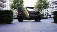 世界最小的电动汽车, 比Smart还小巧, 车身可伸展, 再不愁停车难