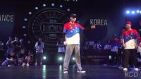 国家赛半决赛 Popping Battle 来自韩国队 vs 法国队[KOD 2018 全球总决赛]