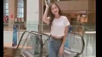 小姐姐在商场大秀热舞, 穿牛仔裤超好看!