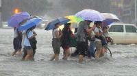 """""""温比亚""""过境河南 河北等地普降暴雨"""