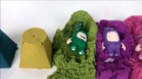 搞笑睡衣小英雄玩具 百变动力沙 亲子早教