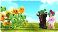 小飞象解说✘Roblox植物大战僵尸大亨 我居然穿越了? 发现新的花园! 乐高小游戏