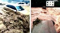 """台风""""温比亚""""致河南暴雨 严重内涝"""