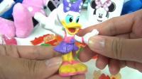 米妮盒玩里装着的漂亮黛西玩偶