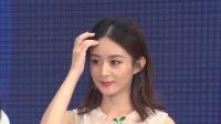 现场:赵丽颖优雅亮相 为粉丝送福利