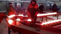 国外钢厂机械流水线, 1分钟产1000个钢球, 看着太过瘾!