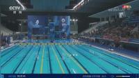 CCTV-5 直播游泳赛事, 纽恩泰在现场为中国队助威, 并为亚运会提供绿色节能的热水方案