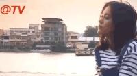 鞠婧祎晒游客照笑颜明媚动人 河边低头自拍少女感足
