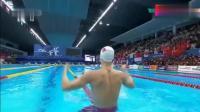 2018年亚运会男子200米自由泳决赛 孙杨以1分45秒43获得冠军!