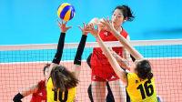 2018女排亚运会小组赛B组中国vs越南比赛录像