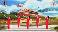 阳光美梅原创广场舞《为梦歌唱》简单32步-编舞: 美梅2018最新大众广场舞