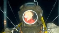 海下潜水时潜水服气压内气压失衡多恐怖? 看老外实验我大惊失色!