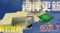 可作弊Minecraft生存ep.1 海洋更新~